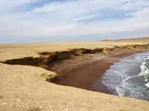 Red sand beach!